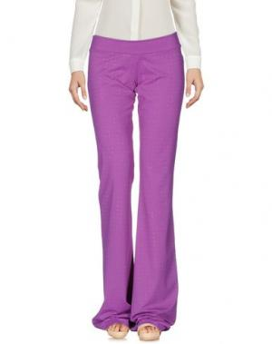 Повседневные брюки FISICO. Цвет: фиолетовый