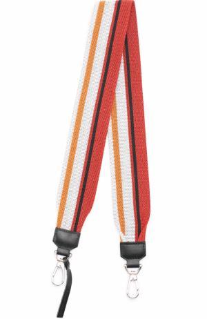 Текстильный ремень для сумки Proenza Schouler. Цвет: разноцветный