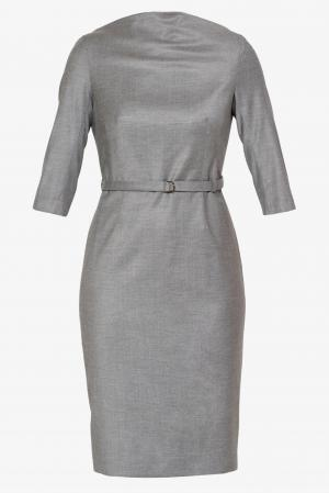 Платье VASSA&Co. Цвет: серый
