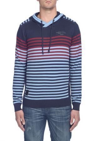 Пуловер Point Zero. Цвет: синий