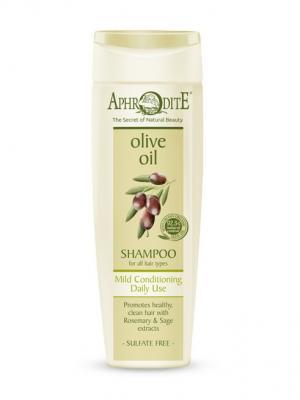 Шампунь мягкий для ежедневного применения Aphrodite. Цвет: оливковый