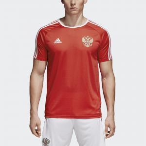 Домашняя футболка болельщика сборной России  Performance adidas. Цвет: красный