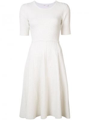 Расклешенное платье A.L.C.. Цвет: белый