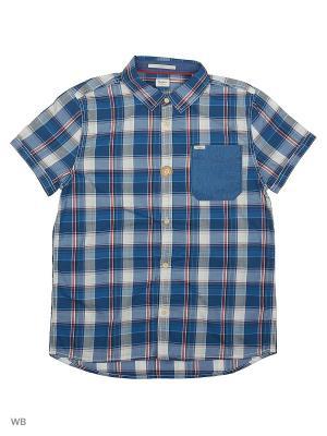 Рубашка PEPE JEANS LONDON. Цвет: синий