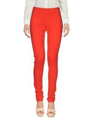 Повседневные брюки CRISTINAEFFE. Цвет: красный