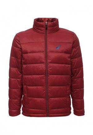 Куртка утепленная ASICS. Цвет: бордовый