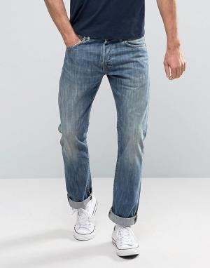 Edwin Прямые джинсы ED-71. Цвет: синий