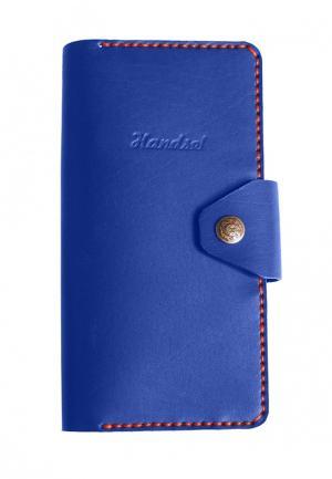 Портмоне Handsel. Цвет: синий