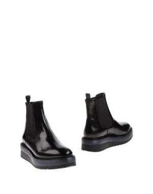 Полусапоги и высокие ботинки SAX. Цвет: черный