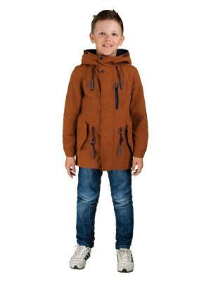 Куртка BOOM. Цвет: светло-коричневый