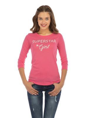 Лонгслив Colin's. Цвет: розовый