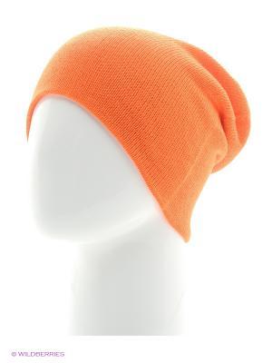 Шапка Непростые вещи. Цвет: оранжевый