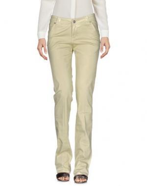 Повседневные брюки SEVEN7. Цвет: зеленый