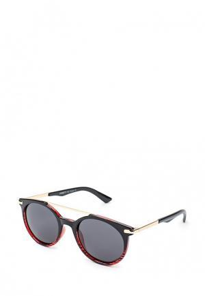 Очки солнцезащитные Fabretti. Цвет: красный