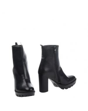 Полусапоги и высокие ботинки GRIFF ITALIA. Цвет: черный