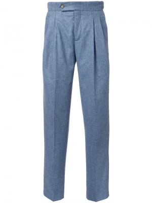Зауженные брюки Éditions M.R. Цвет: серый