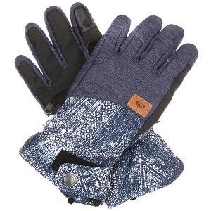 Перчатки сноубордические женские  Vermont Peacoat avoya Roxy. Цвет: синий,белый
