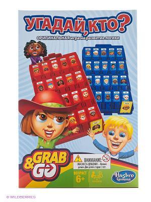 Угадай кто? Дорожная игра Hasbro. Цвет: желтый, красный, синий