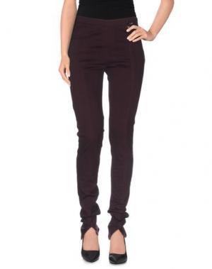 Повседневные брюки CRISTINAEFFE. Цвет: баклажанный