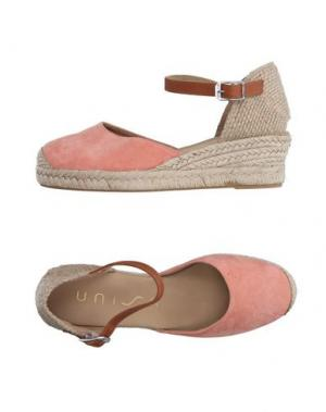 Эспадрильи UNISA. Цвет: лососево-розовый