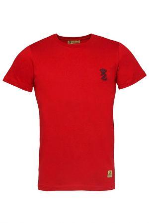 Футболка Z-Brand. Цвет: красный