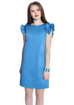 Платье Rise. Цвет: синий