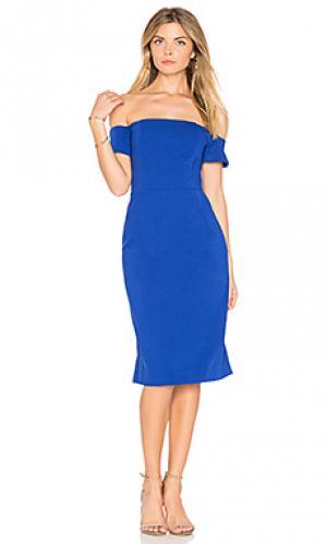 Платье reaghan BB Dakota. Цвет: синий