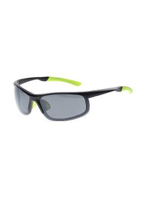 Очки солнцезащитные Infiniti. Цвет: черный, серый, салатовый