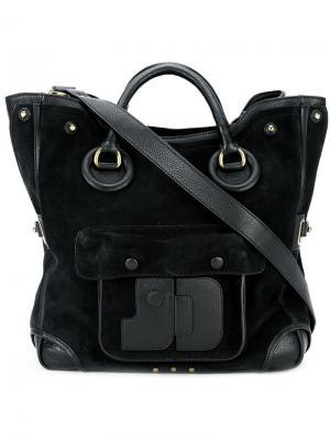 Jacky shoulder bag Jérôme Dreyfuss. Цвет: чёрный