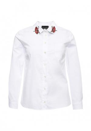 Рубашка Atos Lombardini. Цвет: белый