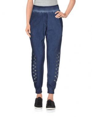 Повседневные брюки ODI ET AMO. Цвет: темно-синий