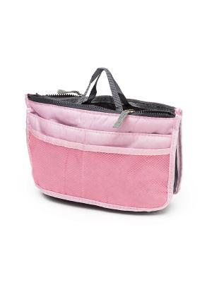 Органайзер в сумку MimiForme. Цвет: розовый