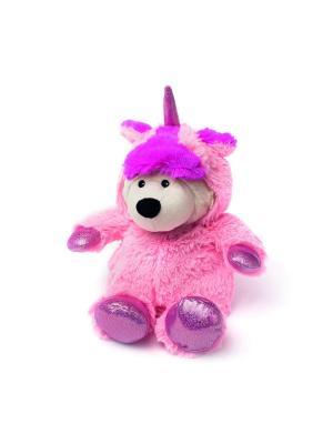 Игрушка-грелка Унси розовый Warmies. Цвет: коричневый