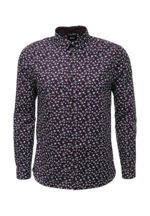 Рубашка Burton Menswear London. Цвет: бордовый