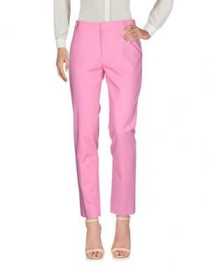 Повседневные брюки RAOUL. Цвет: розовый
