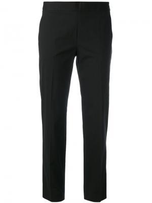 Прямые брюки Alberto Biani. Цвет: коричневый