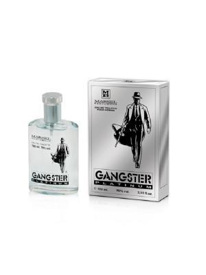 Туалетная вода Creation Gangster Platinum men EDT 100ml Beauty. Цвет: серебристый