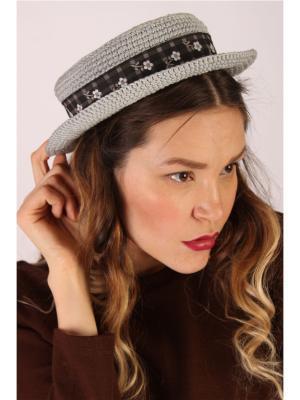 Шляпа EMMY. Цвет: серый