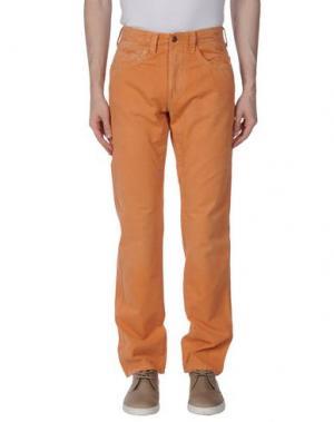 Повседневные брюки JAGGY. Цвет: оранжевый