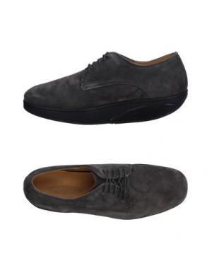 Обувь на шнурках MBT. Цвет: свинцово-серый