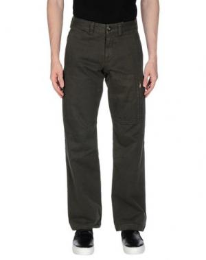 Повседневные брюки MURPHY & NYE. Цвет: темно-зеленый