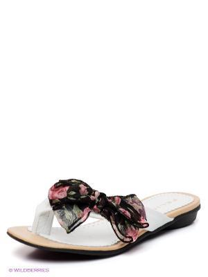 Пантолеты Felina shoes. Цвет: белый, черный