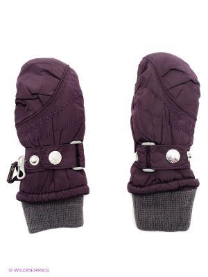 Варежки Hippo Hoppo. Цвет: фиолетовый