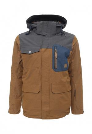 Куртка горнолыжная Icepeak. Цвет: коричневый
