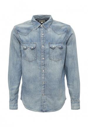 Рубашка джинсовая Denim & Supply Ralph Lauren. Цвет: голубой