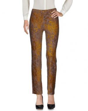 Повседневные брюки JAN & CARLOS. Цвет: голубиный серый