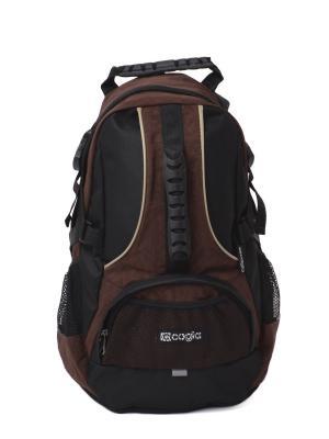 Ранец CAGIA. Цвет: коричневый