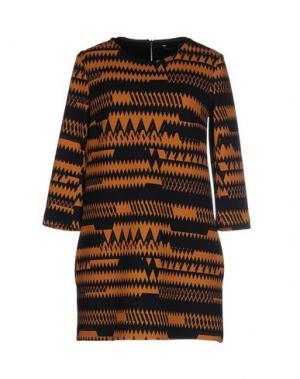 Короткое платье NORA BARTH. Цвет: темно-синий