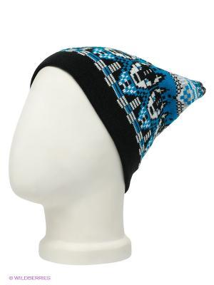 Шапка Maxval. Цвет: черный, синий, светло-серый, белый