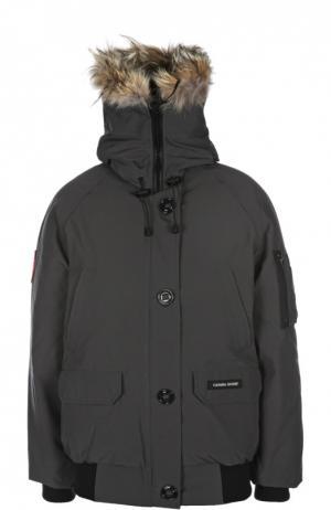 Куртка Canada Goose. Цвет: темно-серый